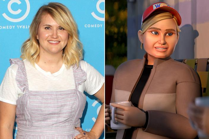 "<p><a href=""https://ew.com/tag/jillian-bell/"" rel=""nofollow noopener"" target=""_blank"" data-ylk=""slk:Jillian Bell"" class=""link rapid-noclick-resp"">Jillian Bell</a> joins this season as Risoli — minus the Isles. </p>"