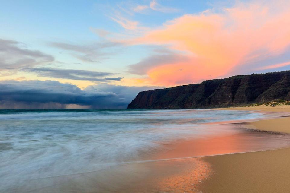 <p>It's hard to pick just one amazing beach in Hawaii, but Polihale Beach on Kauai's west coast is perfect for those seeking a bit of isolation and calm.</p>