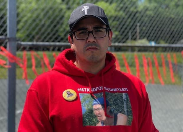 Chief Bill Ward of Metepenagiag Mi'kmaq Nation has confirmed four cases of COVID-19 in his community. (Gary Moore/CBC News - image credit)