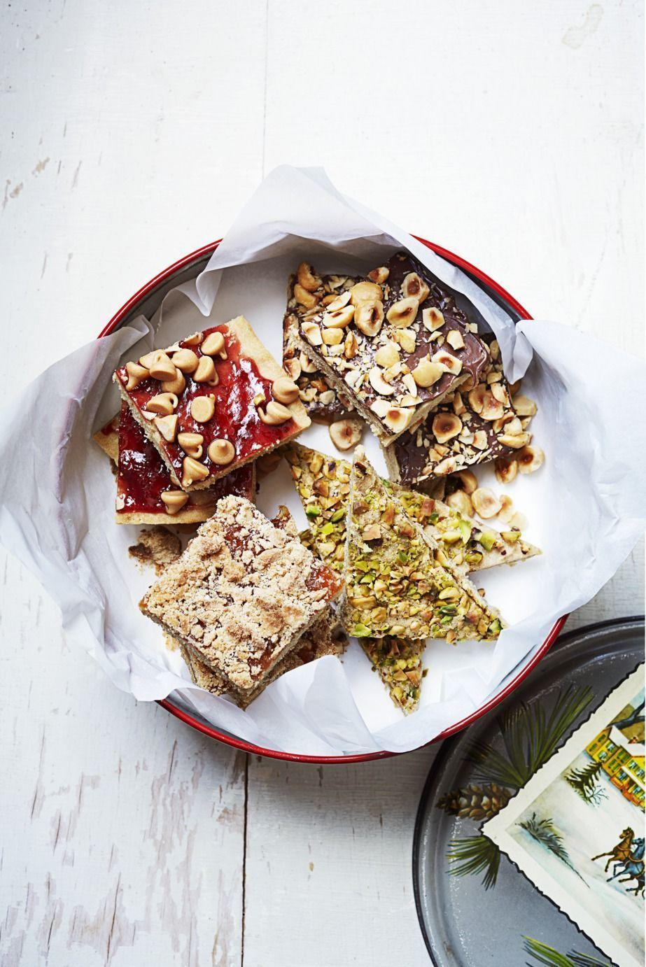 "<p>With a cookie bar base and a chocolate hazelnut topping, these treats bring delicious variety to your baking game.</p><p><em><a href=""https://www.goodhousekeeping.com/food-recipes/a16045/brown-sugar-hazelnut-bars-recipe-ghk1214/"" rel=""nofollow noopener"" target=""_blank"" data-ylk=""slk:Get the recipe for Brown Sugar–Hazelnut Bars »"" class=""link rapid-noclick-resp"">Get the recipe for Brown Sugar–Hazelnut Bars »</a></em></p>"