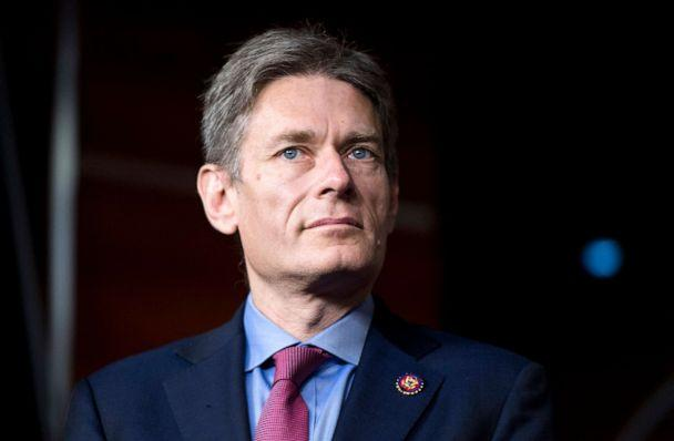 PHOTO: Rep. Tom Malinowski participates in the news conference with other freshmen to announce the Shutdown to End All Shutdowns (SEAS) Act, in the Capitol, Jan. 29, 2018. (Bill Clark/CQ-Roll Call,Inc./Getty Images, FILE)