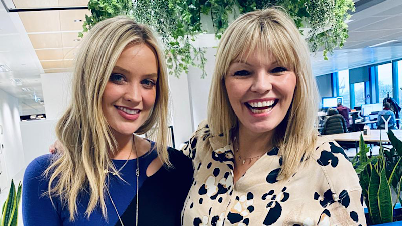 Laura Whitmore appears on the latest episode of White Wine Question Time, hosted by Kate Thornton