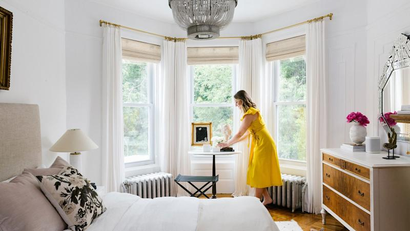 See How One Designer Transformed a Small Brooklyn Rental Into an Airy, Parisian-Inspired Home