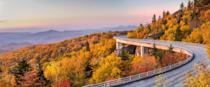 """<p>The Blue Ridge Parkway boasts 469 miles of stunning scenery, parkland, and mountains. It's also home to more than 100 different species of trees that take on all the magical colors of fall in late October. </p><p><a class=""""link rapid-noclick-resp"""" href=""""https://go.redirectingat.com?id=74968X1596630&url=https%3A%2F%2Fwww.tripadvisor.com%2FSmartDeals-g60742-Asheville_North_Carolina-Hotel-Deals.html&sref=https%3A%2F%2Fwww.thepioneerwoman.com%2Fhome-lifestyle%2Fg36804013%2Fbest-places-to-see-fall-foliage%2F"""" rel=""""nofollow noopener"""" target=""""_blank"""" data-ylk=""""slk:FIND A HOTEL"""">FIND A HOTEL</a></p>"""