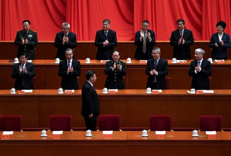 """Xi Jinping said """"peaceful reunification"""" with Taiwan """"will be and can be realised"""" (AFP/Noel Celis)"""