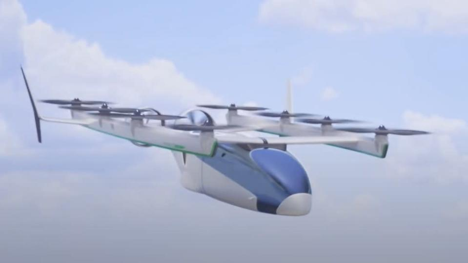 The company will combine existing technologies developed from its jet, electric car and autonomous vehicles divisions with new designs to create the hybrid aircraft. - Credit: Courtesy Honda