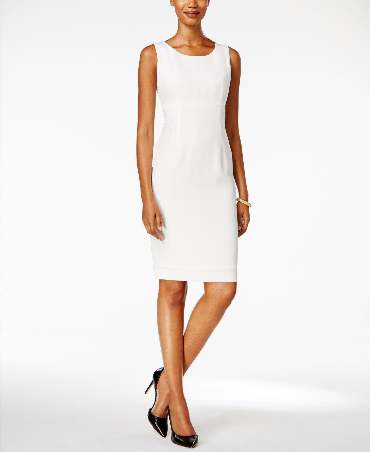<strong><span>Kasper sheath dress</span>, $79</strong>