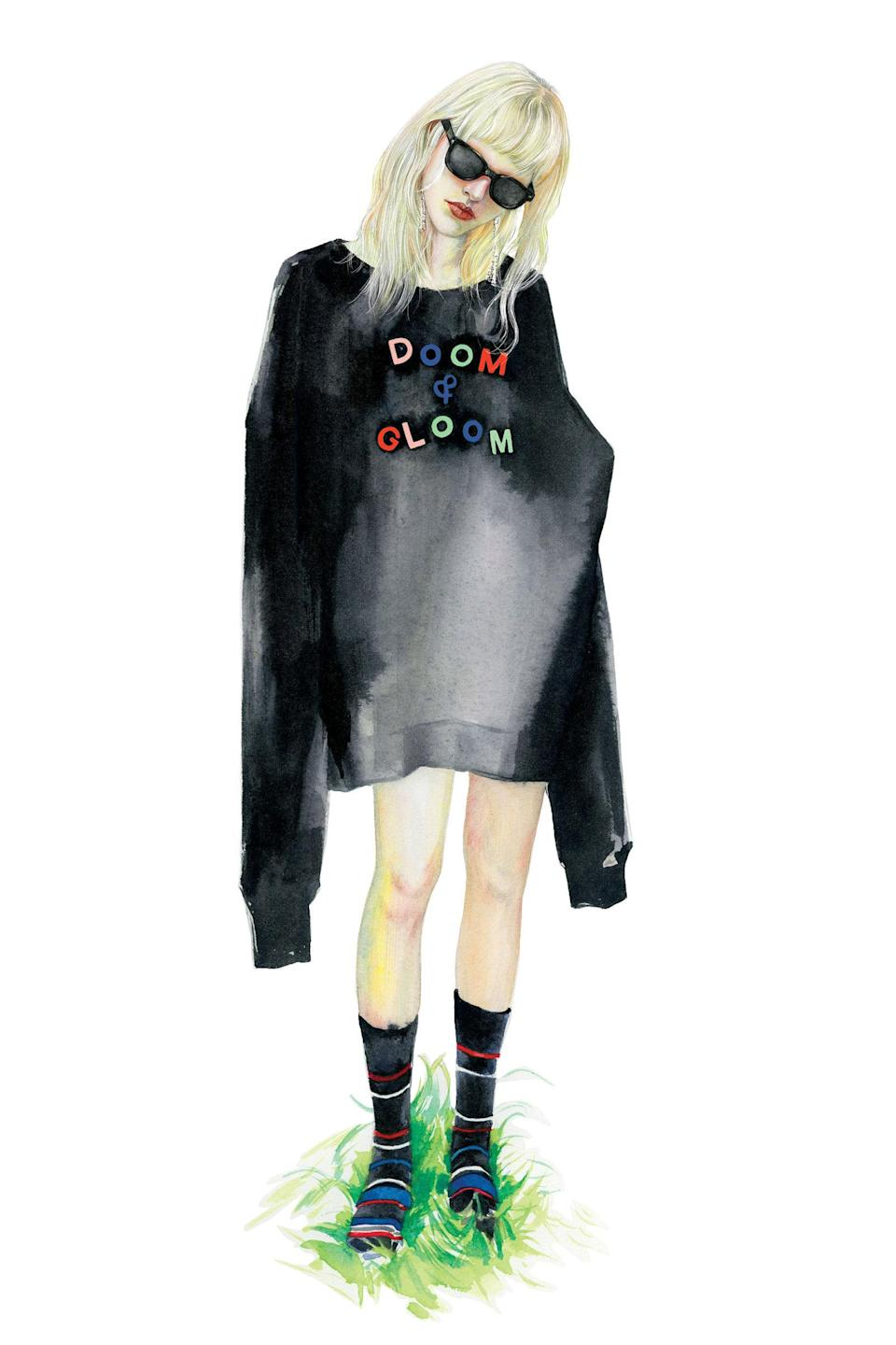 Ashish dropped a must-have line at River Island last week [Illustration: River Island]