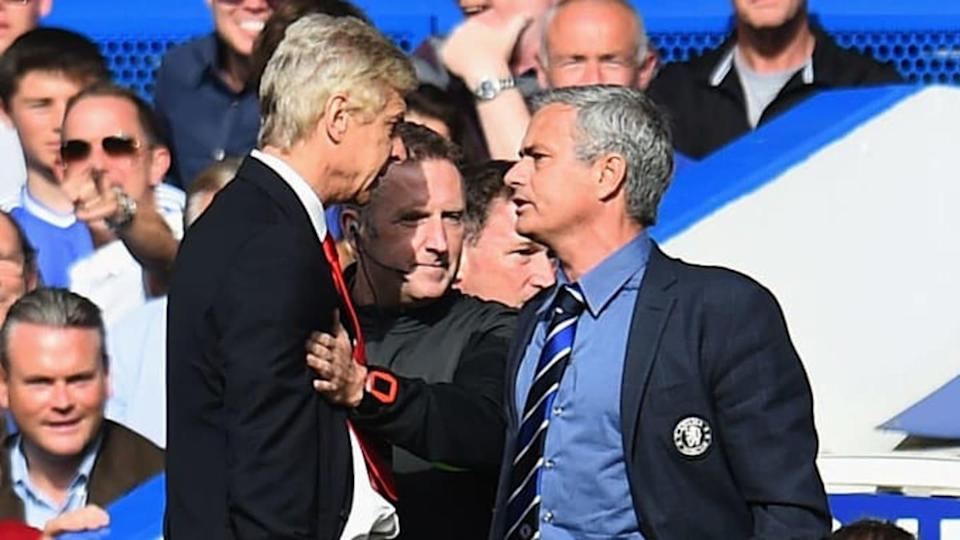 Mourinho y Wenger | Shaun Botterill/Getty Images