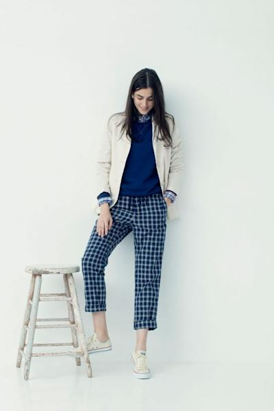 Summer chic from the Ines de la Fressange and Uniqlo spring/summer 2018 collection