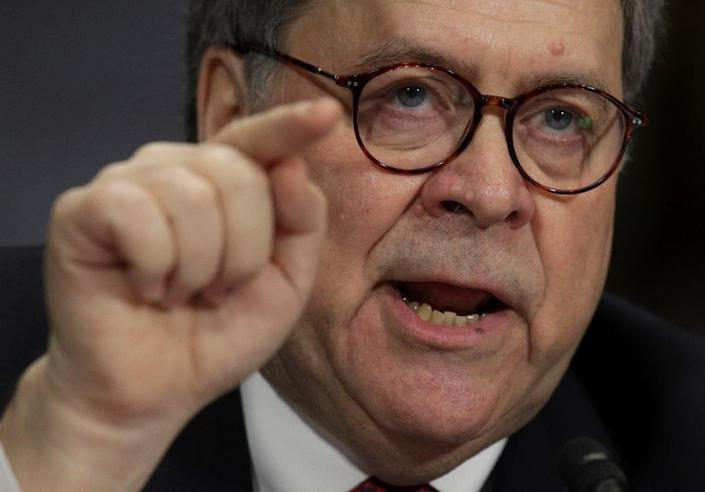 US Attorney General Bill Barr is being branded as more political than his predecessor, labeled a liar and facing calls for impeachment and a possible charge of contempt of Congress (AFP Photo/ALEX WONG)