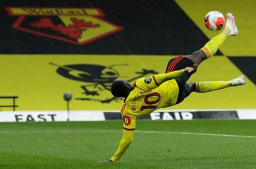 Danny Welbeck's overhead kick gave Watford victory over Norwich