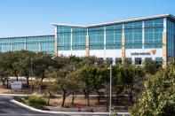 Exterior view of SolarWinds headquarters in Austin