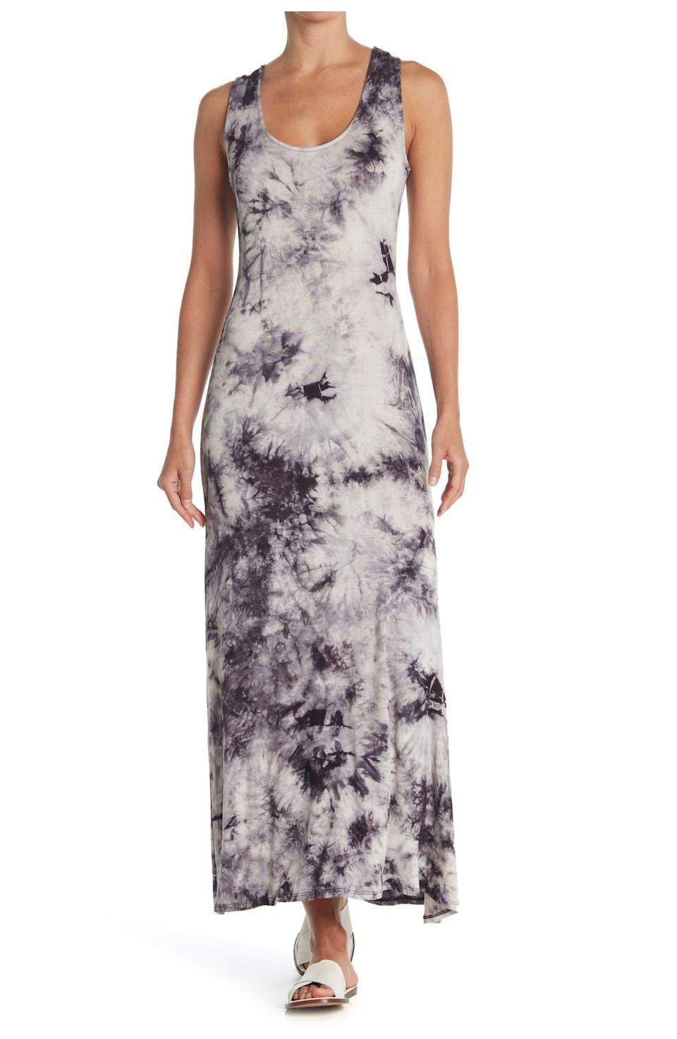 """<h2>West Kei Racerback Sleeveless Maxi Dress</h2><br>If you're not ready kick your <a href=""""https://www.refinery29.com/en-us/tie-dye-loungewear"""" rel=""""nofollow noopener"""" target=""""_blank"""" data-ylk=""""slk:2020 tie-dye loungewear habit"""" class=""""link rapid-noclick-resp"""">2020 tie-dye loungewear habit</a>, here's how you can transition it to summer 2021. It's cute, it's casual, and the way reviewers rave about the comfort of its soft fabric, it's fair to say it's the next best thing to your beloved tie-dye pajamas. <br><br><strong>The Hype:</strong> 4.3 out of 5 stars; 21 reviews on <a href=""""https://www.nordstromrack.com/s/west-kei-tie-dye-racerback-sleeveless-maxi-dress/6067432"""" rel=""""nofollow noopener"""" target=""""_blank"""" data-ylk=""""slk:NordstromRack.com"""" class=""""link rapid-noclick-resp"""">NordstromRack.com</a><br><br><strong>What They're Saying:</strong> """"Super comfy and nice soft fabric, a little bit clingy, but overall flattering to just about any shape body, the fabric is not too this and hangs nicely below the hips. Pattern is nice, and I got the grey, it has some black in it and easy to find almost any footwear to go with it. Washes nicely, I hung dry and got the perfect results. I received many compliments the first time I wore it."""" — Judy J, NordstromRack.com reviewer<br><br><strong>WEST KEI</strong> Tie Dye Racerback Sleeveless Maxi Dress, $, available at <a href=""""https://go.skimresources.com/?id=30283X879131&url=https%3A%2F%2Fwww.nordstromrack.com%2Fs%2Fwest-kei-tie-dye-racerback-sleeveless-maxi-dress%2F6067432"""" rel=""""nofollow noopener"""" target=""""_blank"""" data-ylk=""""slk:Nordstrom Rack"""" class=""""link rapid-noclick-resp"""">Nordstrom Rack</a>"""