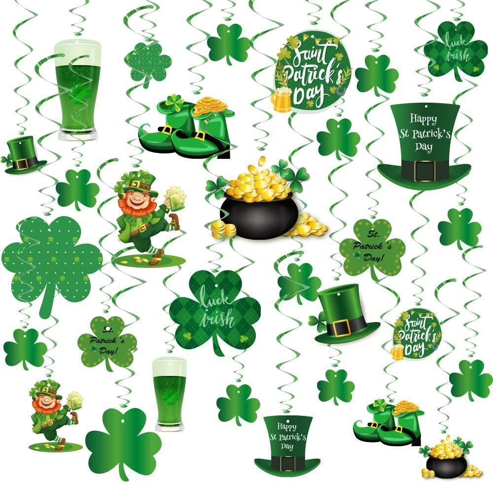 St. Patrick's Day Party Decorations,30 Pcs