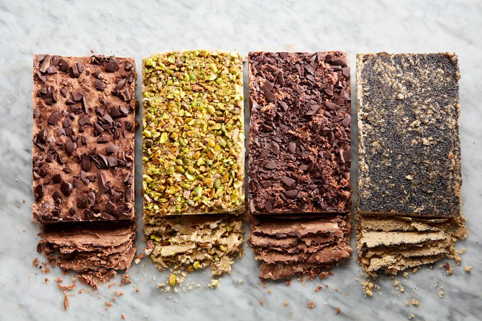 "It's surprisingly easy to make this confection, and totally fun to customize the flavor. <a href=""https://www.epicurious.com/recipes/food/views/halva-5-ways?mbid=synd_yahoo_rss"" rel=""nofollow noopener"" target=""_blank"" data-ylk=""slk:See recipe."" class=""link rapid-noclick-resp"">See recipe.</a>"