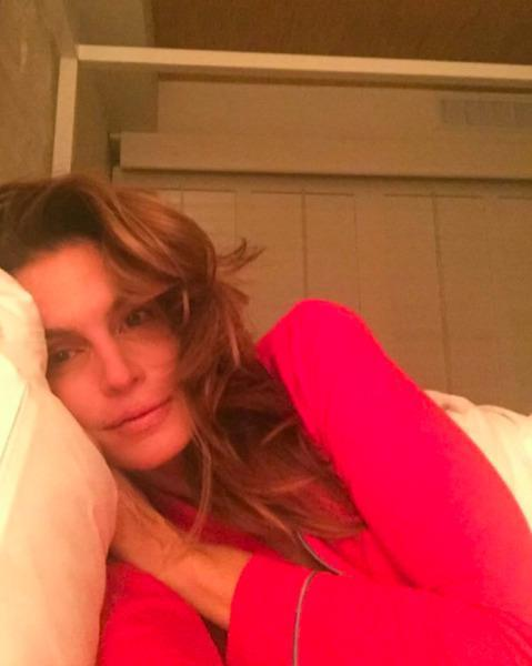 """<p>The supermodel, who is <a href=""""https://www.yahoo.com/beauty/cindy-crawford-on-the-viral-photo-leak-turning-129096180353.html"""" data-ylk=""""slk:turning 50 this year;outcm:mb_qualified_link;_E:mb_qualified_link;ct:story;"""" class=""""link rapid-noclick-resp yahoo-link"""">turning 50 this year</a>, proves that <a href=""""https://www.yahoo.com/beauty/celebs-over-40-prove-bikini-212058477.html"""" data-ylk=""""slk:beauty is ageless;outcm:mb_qualified_link;_E:mb_qualified_link;ct:story;"""" class=""""link rapid-noclick-resp yahoo-link"""">beauty is ageless</a> in her second Instagram selfie without makeup. <i>(Photo: Instagram)</i></p>"""