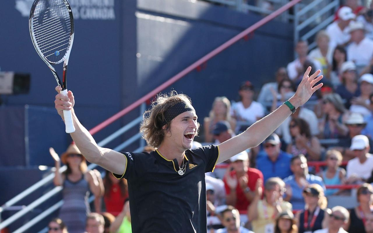 """As AlexanderZverev shook his head after botching a volley when up match point against Rafael Nadal in Indian Wells last March, he looked as if he wanted to be anywhere but on a tennis court. Still only 18 at the time, Zverev went on to lose the match and afterwards looked close to tears as he lamented:""""On match point I sucked, so that was it. I missed probably the easiest shot I had the whole match. That's what happened."""" A year and a half on and Zverev has gone from lanky teenager to 20-year-old baseline behemoth with two Masters titles to his name and a career-high world ranking of No 6. He quickly recovered from the devastation of losing to Nadal and said phlegmatically this year that """"every goodtennis playerhas to have ashort memory"""". Tennis experts are wary of forecasting who the 'next big thing' might be - theyhave been scarred bytoo many false dawns over the last decade - but Zverev has something a little extra special, so much so that Nadal and Roger Federer are among those who have already tipped the youngster for greatness. Zverev's defeat of Federer in the Rogers Cup final earlier this month to win his second Masters title of the year suggested that he could be about to make a major breakthrough, and the bookies have installed him as the third favourite for the US Open, which begins on Monday, August 28. Before the tournament starts, Telegraph Sport takes a look at what makes Zverev so exciting and why he could be the long-term successor to the reign of the 'Big Four'. Zverev and Federer pose with their trophies after the Rogers Cup final Upbringing Zverev, a German national, was born in Hamburg and raised by his mother Irina Zvereva and fatherAlexander Zverev Sr, both of whom are former Russian tennis players. Alexander Jr - or 'Sascha' as he is known - began playing tennis himself almost as soon as he could walk, and quickly followed in the footsteps of his older brother Mischa, who is nine years his senior and was already on the path towards joining th"""