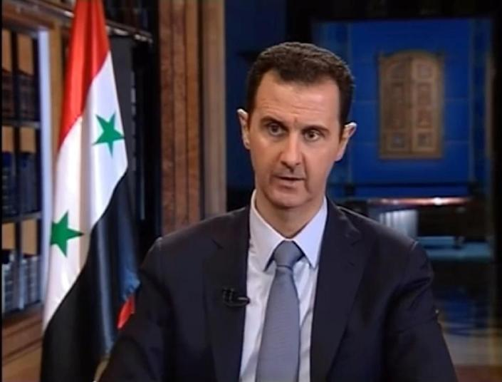 Russia's military build-up in Syria has underscored deep international divisions on Syrian President Bashar al-Assad (pictured) (AFP Photo/-)