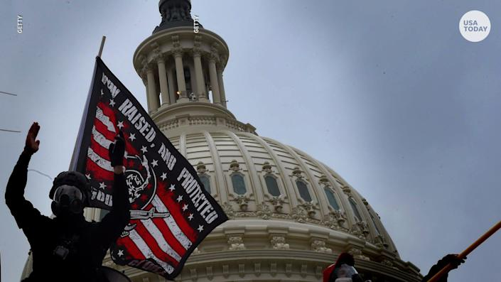 A joint Senate committee concluded that U.S. intelligence officials had failed to warn of potential violence at the U.S. Capitol on Jan. 6.