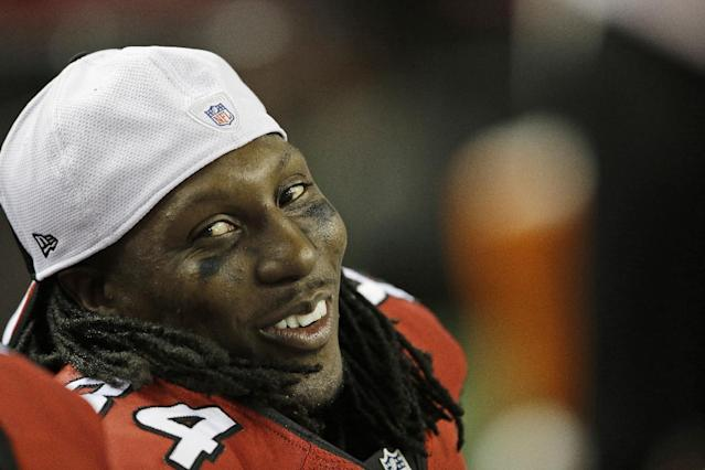 Roddy White signs contract extension that could make him Falcon for life