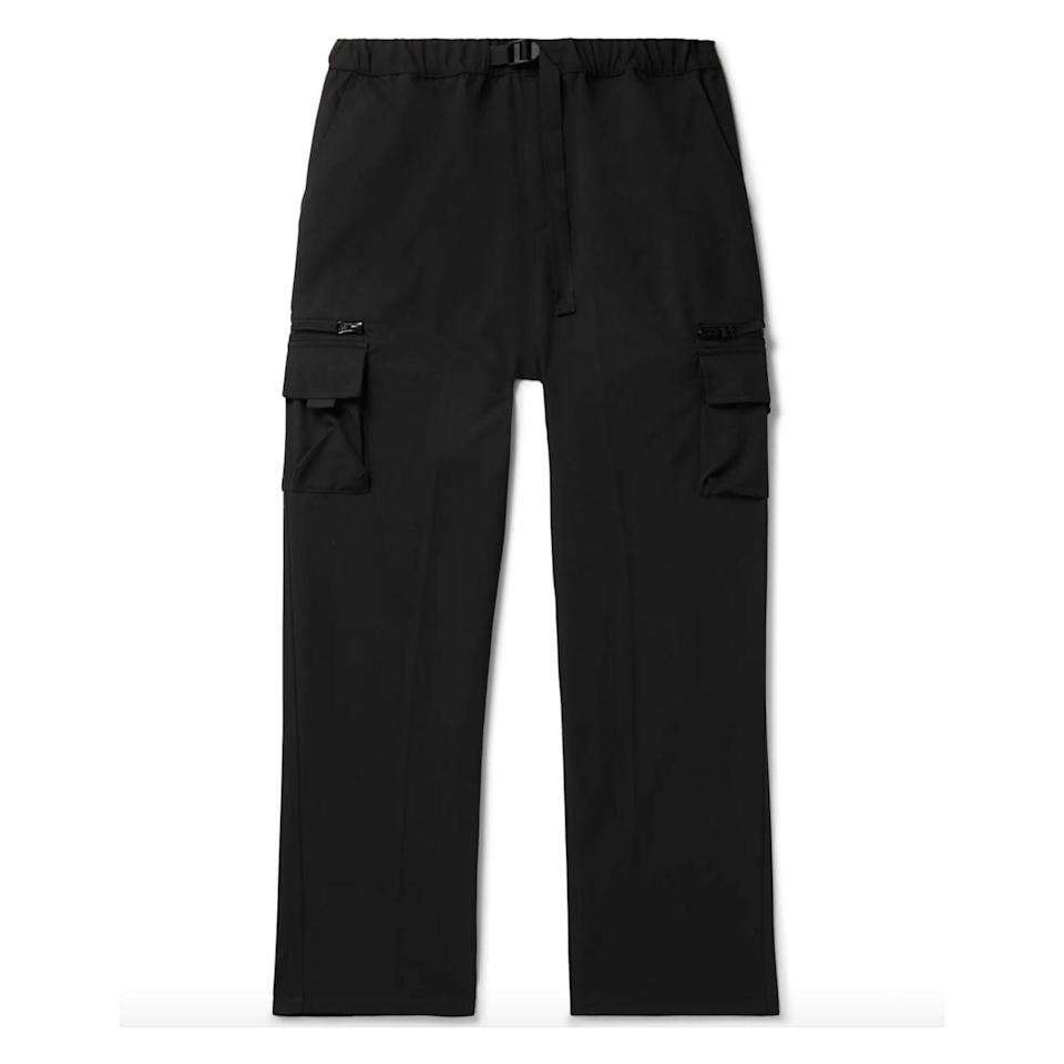 """<p><strong>Carhartt WIP</strong></p><p>mrporter.com</p><p><strong>$165.00</strong></p><p><a href=""""https://go.redirectingat.com?id=74968X1596630&url=https%3A%2F%2Fwww.mrporter.com%2Fen-us%2Fmens%2Fproduct%2Fcarhartt-wip%2Fclothing%2Fcasual-trousers%2Felmwood-tech-canvas-cargo-trousers%2F10516758727729066&sref=https%3A%2F%2Fwww.esquire.com%2Fstyle%2Fmens-fashion%2Fg34645350%2Fbest-performance-pants-men%2F"""" rel=""""nofollow noopener"""" target=""""_blank"""" data-ylk=""""slk:Buy"""" class=""""link rapid-noclick-resp"""">Buy</a></p>"""