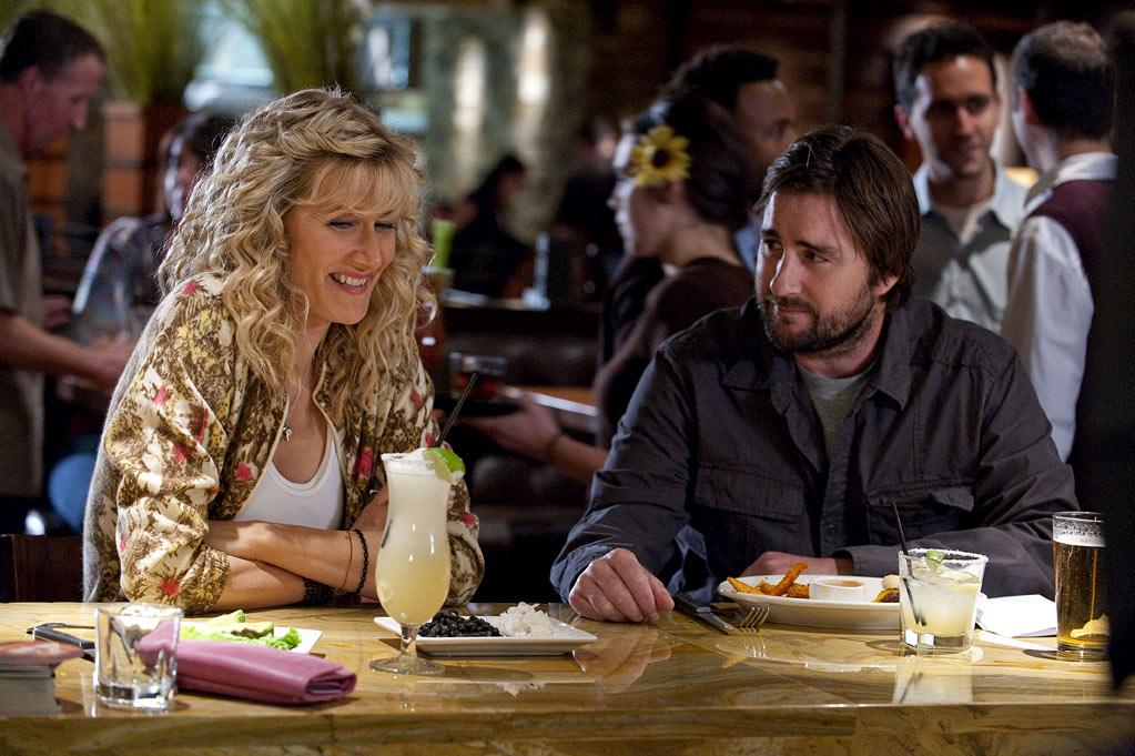 "Laura Dern as Amy and Luke Wilson as Levi in ""Enlightened."""