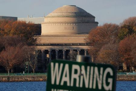 Massachusetts Institute of Technology (MIT) is seen on an embankment of the Charles River in Cambridge, Massachusetts, U.S., November 21, 2018. REUTERS/Brian Snyder