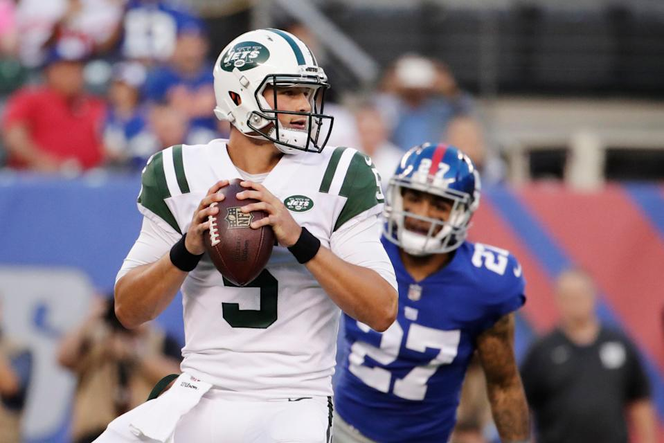 No, we didn't like the New York Jets' pick of quarterback Christian Hackenberg. But we did try to see the bright side. (AP Photo)