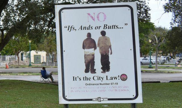 Florida city to lift ban on 'saggy pants'  - 13 years after it was put in place