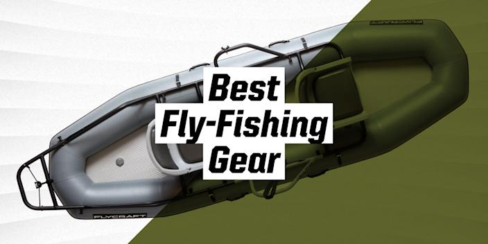 """<p class=""""body-text"""">Fly-fishing is fun because it's hard. While any mouth breather with spinning gear can hurl Powerbait into a river, fly-fishing demands paying extra-close attention to discrete changes in bug activity, river conditions, and water temperature to hook a choosey rainbow trout or stealthy big brown. In this challenge lies the joy.</p><p>Fly-fishing quickly becomes crazy-making, however, if your gear falls apart or underperforms and thwarts your attempts to coax a trout to eat. This dry bag's worth of gear includes items from across the price spectrum and stuff I've tested and used on dozens of outings. If a trout gets away, this reliable, performance-oriented kit won't be to blame.</p><p class=""""body-tip""""><strong>Into the Deep:</strong> <a href=""""https://www.popularmechanics.com/adventure/outdoors/how-to/a26297/how-to-start-fly-fishing/"""" rel=""""nofollow noopener"""" target=""""_blank"""" data-ylk=""""slk:How to Get Started in Fly-Fishing"""" class=""""link rapid-noclick-resp"""">How to Get Started in Fly-Fishing</a> 