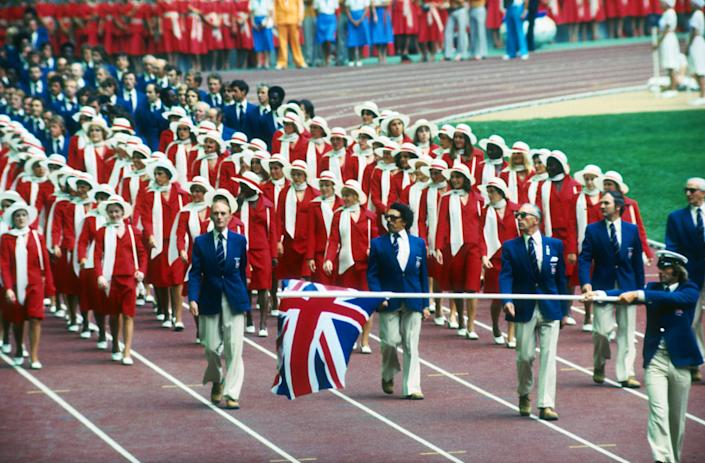 Montreal 1976, opening ceremony (Getty Images)