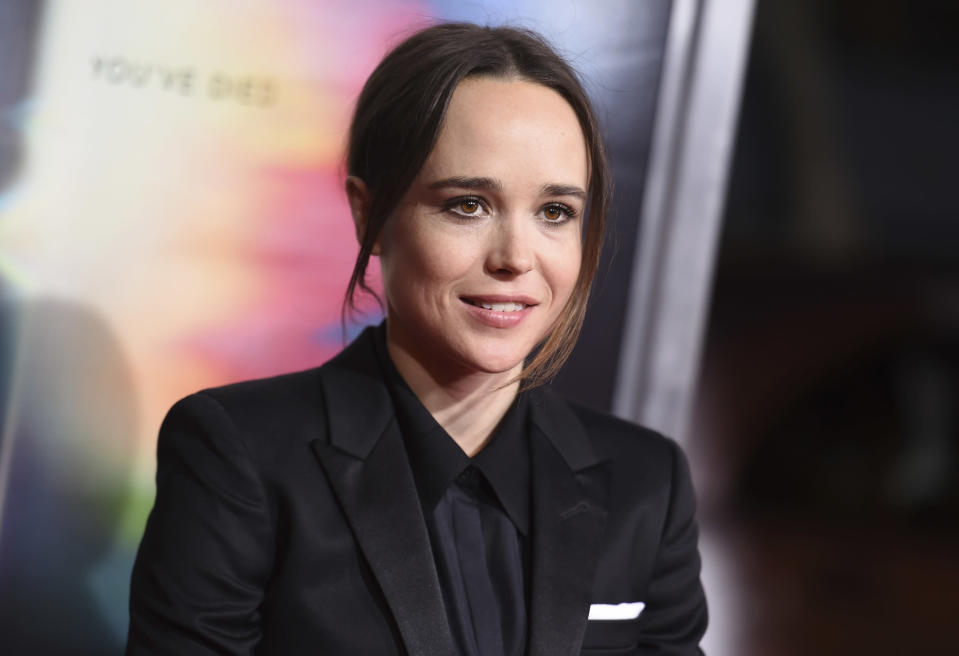 Ellen Page shared her regrets (Photo by Richard Shotwell/Invision/AP)