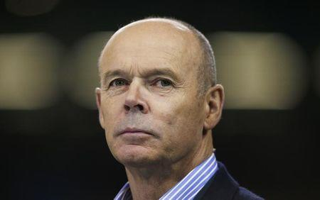 FILE PHOTO: Rugby Union - New Zealand v France - IRB Rugby World Cup 2015 Quarter Final - Millennium Stadium, Cardiff, Wales - 17/10/15. Former england head coach Sir Clive Woodward. Action Images via Reuters / Peter Cziborra. Livepic