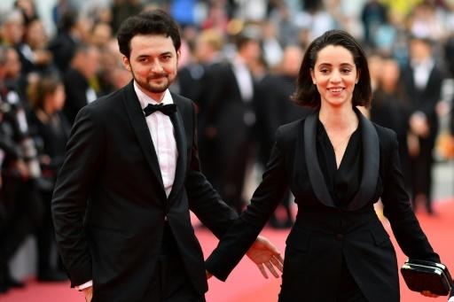 """Egyptian director A.B Shawky, in Cannes with producer Dina Emam, hopes his film """"Yomeddine"""" about an Egyptian leper and his orphan friend can land him the Palme d'Or and bolster the profile of Arab film-makers"""