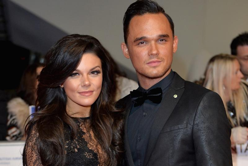 Faye Brookes has denied being in a new relationship following her recent split from fiancé Gareth Gates (Anthony Harvey/Getty)