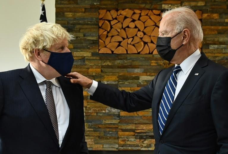 US President Joe Biden meets British Prime Minister Boris Johnson for the first time in a face-to-face meeting on Thursday