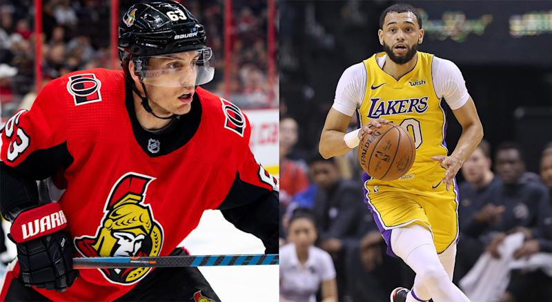 Tyler Ennis, the hockey player, was mixed up by doctors with Tyler Ennis, the basketball player. (Getty Images)