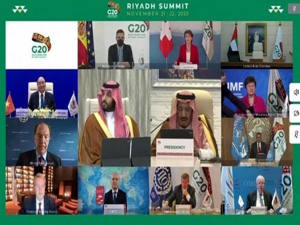 World leaders participating in the G-20 Summit