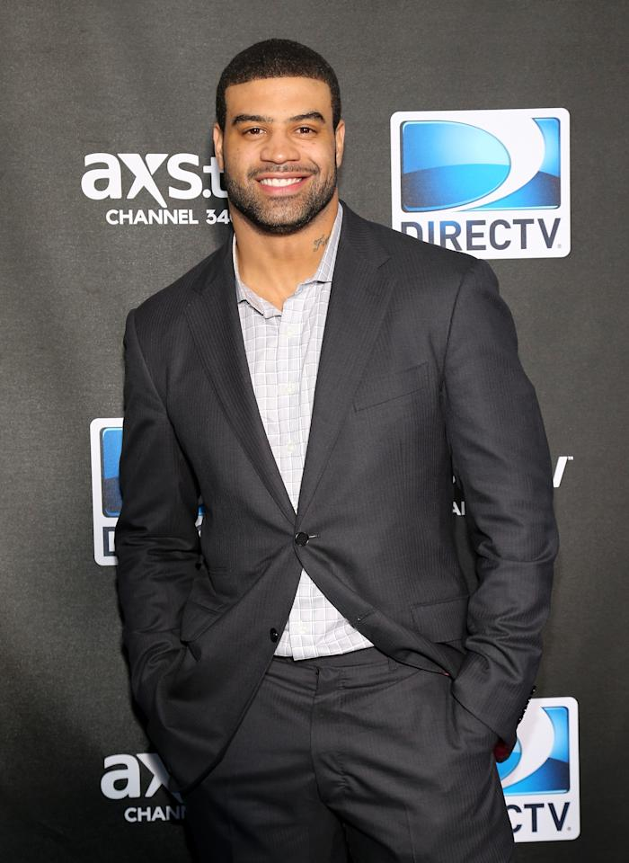 NEW ORLEANS, LA - FEBRUARY 02:  NFL player Shawne Merriman attends DIRECTV Super Saturday Night Featuring Special Guest Justin Timberlake & Co-Hosted By Mark Cuban's AXS TV on February 2, 2013 in New Orleans, Louisiana.  (Photo by Neilson Barnard/Getty Images for DirecTV)
