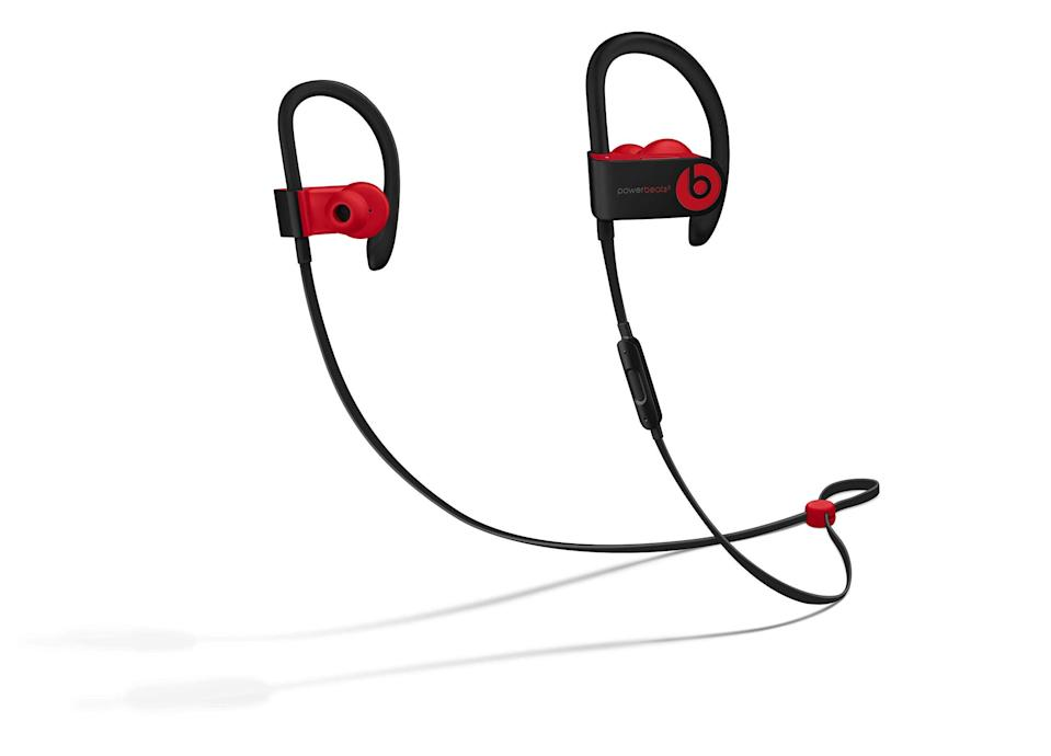 """<h2><a href=""""https://amzn.to/2TyCahn"""" rel=""""nofollow noopener"""" target=""""_blank"""" data-ylk=""""slk:Beats By Dr. Dre"""" class=""""link rapid-noclick-resp"""">Beats By Dr. Dre</a></h2> <br><strong>Dates: </strong>Now – May 25<br><br>If you're in the market for a new set of headphones, you're probably going to want to cash in on Beats by Dr. Dre's major MDW savings — with up to 55% off multiple styles from the ever-popular tech-accessory brand across multiple big-name retailers: like <strong><a href=""""https://www.walmart.com/browse/electronics/3944_133251_1095191_1231498_1231499"""" rel=""""nofollow noopener"""" target=""""_blank"""" data-ylk=""""slk:Walmart"""" class=""""link rapid-noclick-resp"""">Walmart</a></strong>, <strong>Amazon</strong>, <strong><a href=""""https://www.bestbuy.com/site/searchpage.jsp?st=Beats+by+Dr.+Dre&_dyncharset=UTF-8&_dynSessConf=&id=pcat17071&type=page&sc=Global&cp=1&nrp=&sp=&qp=&list=n&af=true&iht=y&usc=All+Categories&ks=960&keys=keys"""" rel=""""nofollow noopener"""" target=""""_blank"""" data-ylk=""""slk:Best Buy"""" class=""""link rapid-noclick-resp"""">Best Buy</a></strong>, and even <strong><a href=""""https://www.kohls.com/catalog/beats.jsp?CN=Brand:Beats&kls_sbp=56237537286557403510073260856117264534"""" rel=""""nofollow noopener"""" target=""""_blank"""" data-ylk=""""slk:Kohl's"""" class=""""link rapid-noclick-resp"""">Kohl's</a></strong>. <br><br><strong>Beats</strong> Powerbeats3 Wireless Earphones - Apple W1 Headphone Chip, Class 1 Bluetooth, 12 Hours Of Listening Time, Sweat Resistant Earbuds - Defiant Black-Red, $, available at <a href=""""https://amzn.to/2ZxiBKq"""" rel=""""nofollow noopener"""" target=""""_blank"""" data-ylk=""""slk:Amazon"""" class=""""link rapid-noclick-resp"""">Amazon</a><br><br><br>"""