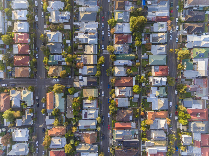 Aerial view of an Australian suburb. Source: Getty Images