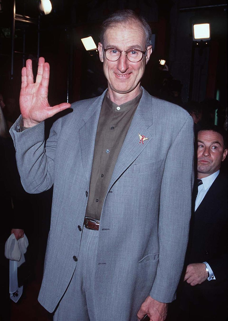 "<p>James Cromwell flashes the ""Live Long and Prosper"" hand sign at the launch for the film, in which he appears as Zefram Cochran, the inventor of the warp core. <i>(Photo: Steve Granitz/WireImage)</i></p>"