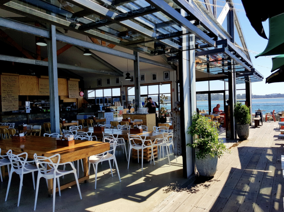 Pictured is JJ's at The Marina in Batemans Bay.