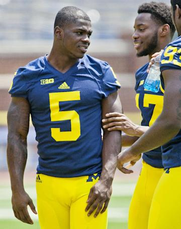 Jabrill Peppers (left/AP)