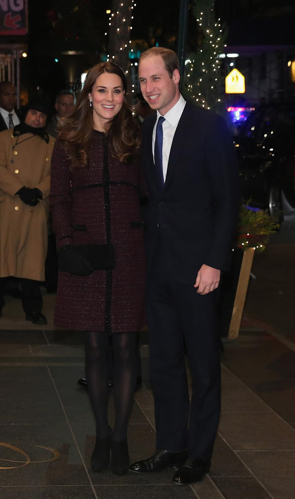 <p>In 2014 the couple visited New York for an official tour, with engagements ranging from visits to the 9/11 memorial to basketball games. (Neilson Barnard/Getty Images)</p>