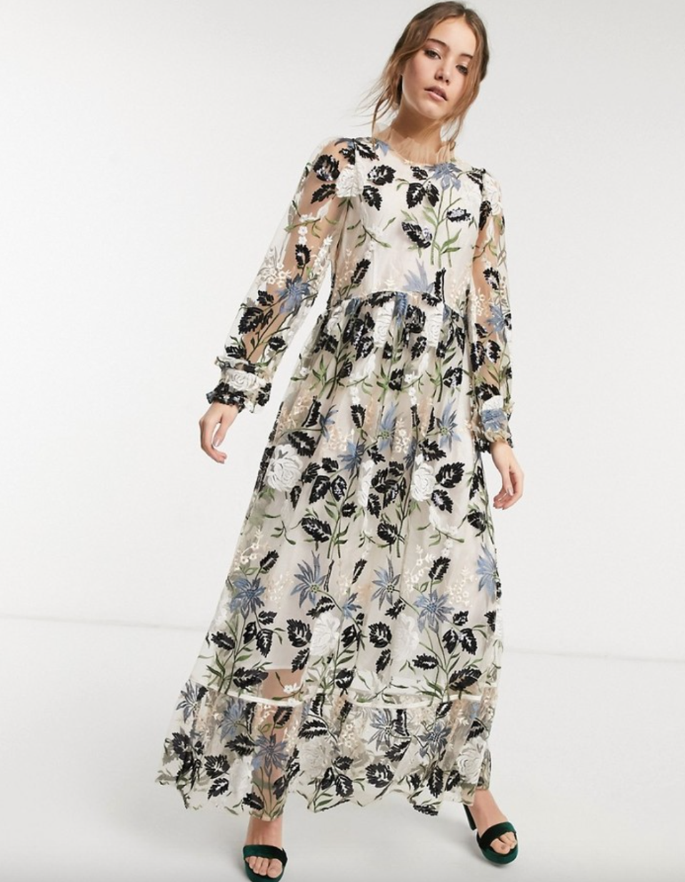 Dream Sister Jane Sheer Maxi Dress (Photo via ASOS)