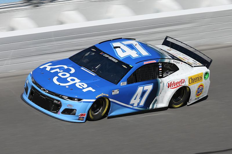 DAYTONA, FL - FEBRUARY 8: Ricky Stenhouse Jr., driver of the #47 JTG Daugherty Racing Kroger Chevrolet Camaro, during practice for the Daytona 500 on February 8, 2020 at Daytona International Speedway in Daytona Beach, Fl. (Photo by David Rosenblum/Icon Sportswire via Getty Images)