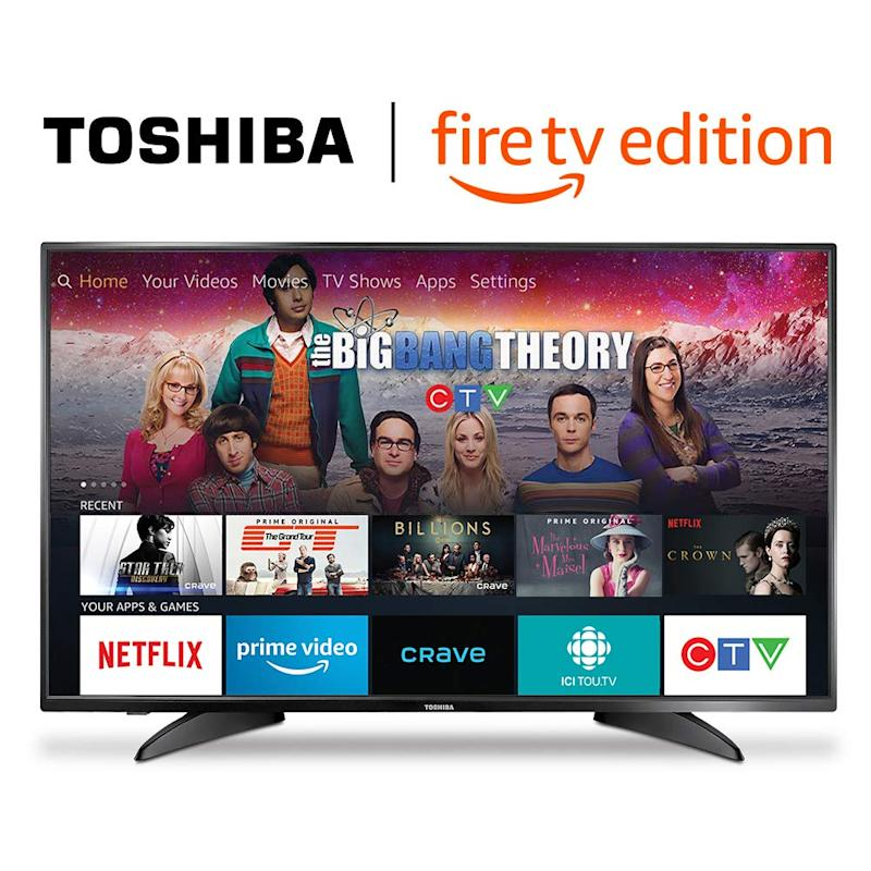 Toshiba 43-inch 1080p HD Smart LED TV