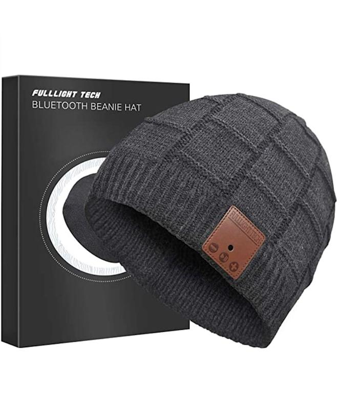 <p>If this <span>FULLLIGHT TECH Upgraded Bluetooth Beanie Hat With Headphones Upgraded Bluetooth Beanie Hat With Headphones</span> ($26) isn't the coolest, we don't know what is.</p>